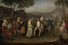 Highland Wedding at Blair Atholl by David Allan 1780