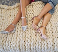 sparkling shoes, aldo shoes, pin shoes, fur shoes,