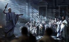 ArtStation - Total War: Rome II - Imperator Augustus Campaign Pack , Octavian Avgvstvs vs Marcus Antonius , Mariusz Kozik