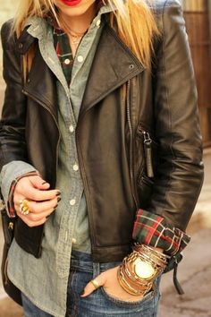 I want a leather jacket!