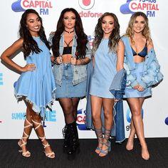 Little Mix Opened The #CapitalSTB In SERIOUS Style - We love this #ADOREJewelry look on #littlemix at the Capital FM Summer Time Ball! www.adorejewelry.com