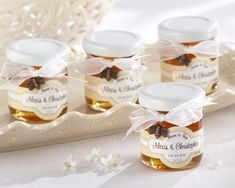 Personalized Honey Wedding Favors, Meant to Bee Clover Honey Favors, Mini Honey Jar Favors Wedding Favors And Gifts, Wedding Favour Sweets, Honey Wedding Favors, Cookie Wedding Favors, Homemade Wedding Favors, Wedding Gifts For Bride And Groom, Creative Wedding Favors, Inexpensive Wedding Favors, Edible Wedding Favors