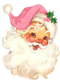 Illustration Noel, Christmas Illustration, Illustrations, Santa Paintings, Christmas Paintings, Santa Head, Santa Face, Christmas Scenes, Christmas Art