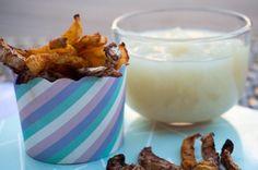 Homemade Pearsauce great with fries / Zelf gemaakte perenmoes, of zelfs beter Dubbele perenmoes.