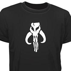 T-SHIRT - STAR WARS INSPIRED - BOBA FETT EMBLEM #regalo #arte #geek #camiseta