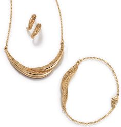 Earthly Beauty Gift Set in Goldtone