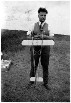 Paul Edward Garber at the 1926 National Air Races, Model Airplane Contest in Philadelphia, held by the Capitol Model Aero Club