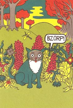 will sweeney, panel from 'tales from greenfuzz'
