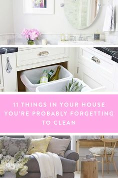 11 Things in Your House that You're Probably Forgetting to Clean via @PureWow
