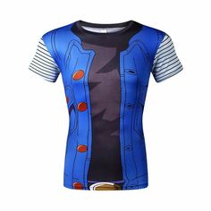 Android 18 – Novelty Force - Visit now for 3D Dragon Ball Shirts and grab them while on sale!