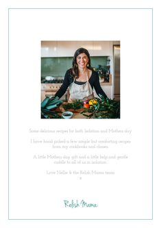 A special Relish Mama recipe book for both Mothers day & during Isolation Recipe Download, Mama Recipe, My Cookbook, Mother Day Gifts, Mothers, Eat, Books, Recipes, Libros