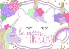 Colección la Petite unicornio Clip Art clipart Unicornio
