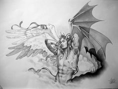 the 23 best fantasy drawings angels demons and other stuff