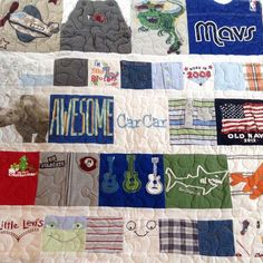 We did the quilting on this little man's memory quilt by @creativestitchesdesign #boyQuilt #babyBoy #babyGift #babyBoyQuilt #babyMemories #babys1stYear #1styearQuilt #quilted #quilter #quilting #quilterflorida #quiltingflorida #quiltingService #quiltingSe