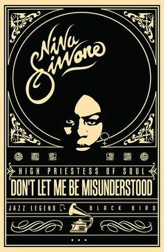 Nina Simone-Jazz legend Poster on Behance Jazz Art, Jazz Music, Music Music, Arte Jazz, Music Pics, Music Wall, Soul Jazz, Band Posters, Cool Posters