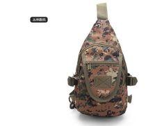 Army Design portable single shoulder bag Casual fashionable Unisex chest bag