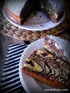 Mamatsita: κέικ ζέβρα