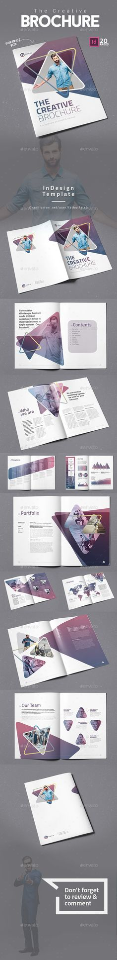 The Creative Brochure Vol.4 #corporate #gradient  • Download here → https://graphicriver.net/item/the-creative-brochure-vol3/21117375?ref=pxcr