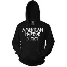 American Horror Story Hoodie ❤ liked on Polyvore featuring american horror story, hoodie top, american tops, american hoodie, hooded pullover and hooded sweatshirt