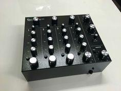 The new Alpha Recording System Model 9000 analogue desktop rotary mixer