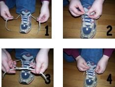 Shoe Tying Sequencing Cards