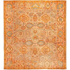 1stdibs   Antique Oushak / Ushak Turkish Rug / Carpet