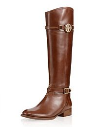 Tory Burch Calista Flat Riding Boot - for fall
