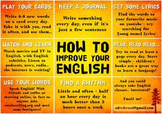 How to improve your English #English