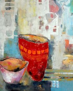 """Angela Fusenig, """"Gefässe II"""" With a click on 'Send as art card', you can send this art work to your friends - for free!"""
