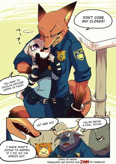 Zootopia News Network: Comic: Nick's Day (Original by Ahiru) (Translated by the…