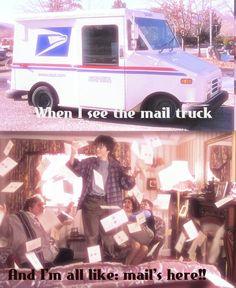 Harry Potter mail