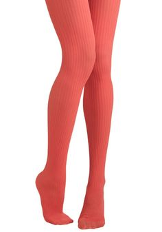 Front of the Line Tights in Sorbet