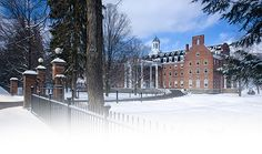 The Otesaga Resort & Hotel in winter  Cooperstown, NY