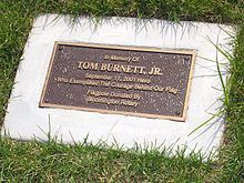 Thomas Burnett Jr. and several other passengers on United Airlines Flight 93 stormed the cockpit, foiling the hijackers' plan to crash the plane into the White House, and forced it to crash in a Pennsylvania field, killing all 44 people on board.