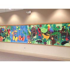 3rd Grade Rainforest, Brooks School Elementary
