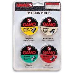 Pellet Gun Ammo:  GAMO Assorted .177 Caliber Pellets (Combo Pack of 1000)