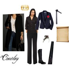 """""""Crowley Cosplay"""" by slytherin-song on Polyvore"""