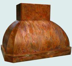 Copper  Range Hood  # 3815