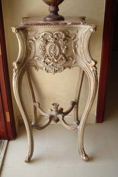 . Rococo Furniture, French Furniture, Classic Furniture, Paint Furniture, Shabby Chic Furniture, Luxury Furniture, Antique Furniture, Furniture Design, French Decor