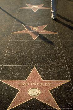 Elvis Presley star, Walk of Fame, Hollywood, CA
