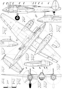 F 100 super sabre blueprint a blue print pinterest aviation tupolev tu 2 blueprint download free blueprint for 3d modeling malvernweather Gallery