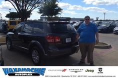 https://flic.kr/p/NymZSQ | Happy Anniversary to Matthew on your #Dodge #Journey from Nicholas Allison at Waxahachie Dodge Chrysler Jeep! | deliverymaxx.com/DealerReviews.aspx?DealerCode=F068