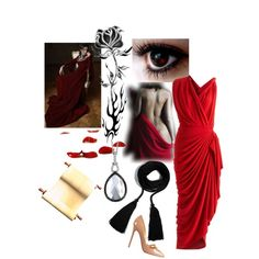 Kushiel series come to life!  14/50 Phèdre nó Delaunay, created by muffinsangria on Polyvore