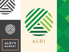 The logo and aesthetic created for my final project in Brand Identity.  We selected from a list of existing businesses to rebrand, and I chose ALDI. The hypothetical situation we had to create this...
