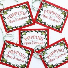 Christmas neighbor gift popcorn Christmas tag Popping over Student Christmas Gifts, Neighbor Christmas Gifts, Christmas Favors, Teacher Christmas Gifts, Etsy Christmas, Neighbor Gifts, Christmas Quotes, Xmas Gifts, Diy Gifts