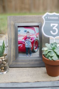 Radiator Springs + Cars Themed Birthday Party via Kara's Party Ideas KarasPartyIdeas.com Printables, cake, tutorials, recipes, supplies, favors, and more! #disneyscars #lightningmcqeen #lighningmcqueenparty #carsparty #radiatorspringsparty (11)