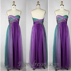 2015 custom made sweetheart strapless gadient long prom dress  homecoming dress