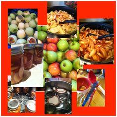 Apple pie filling....