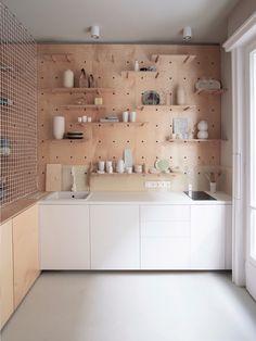 Pegboard Kitchen | Remodelista