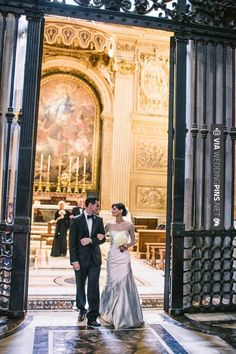 Neat! - Vatican City wedding  // julian kanz photography   CHECK OUT MORE GREAT VINTAGE WEDDING IDEAS AT WEDDINGPINS.NET   #weddings #vintagewedding #weddingvintage #oldweddingphotos #events #forweddings #iloveweddings #romance #vintage #planners #old #ceremonyphotos #weddingphotos #weddingpictures
